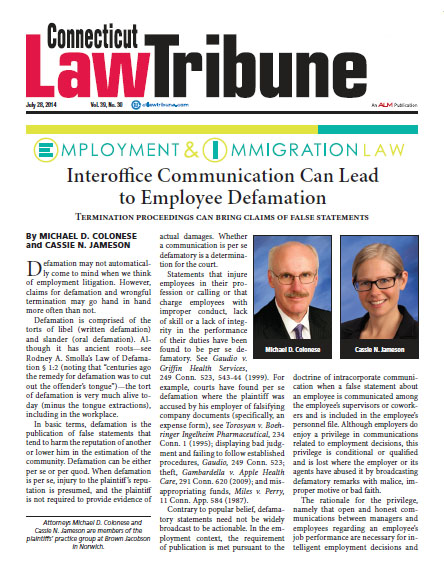 interoffice-communication-can-lead-to-employee-defamation
