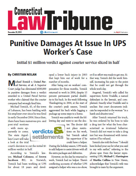 punitive-damages-at-issue-in-ups-workers-case